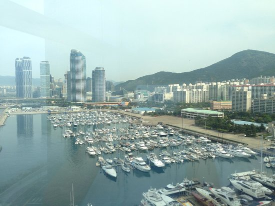 Park Hyatt Busan: view from room