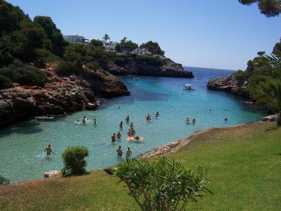Hotel Marina Corfu: la Caletta dall'hotel Skorpion
