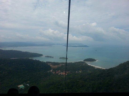 Langkawi Sky Cab: Nice bay view