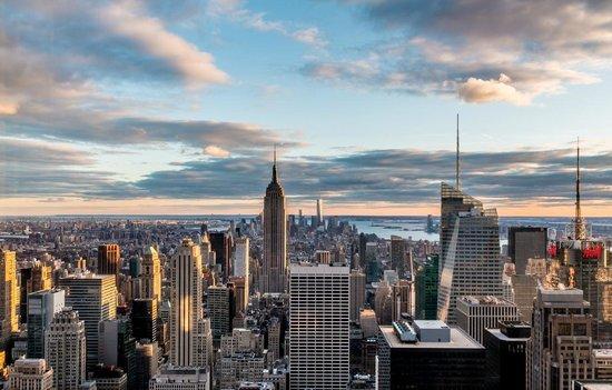 Manhattan Skyline: Manhattan from Rockerfeller Center