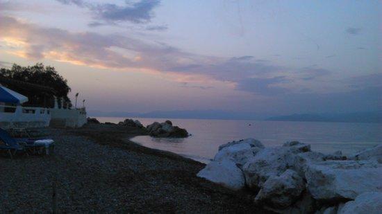 Lido Hotel : coucher de soleil
