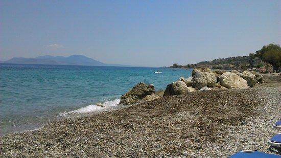 Lido Hotel : plage privée
