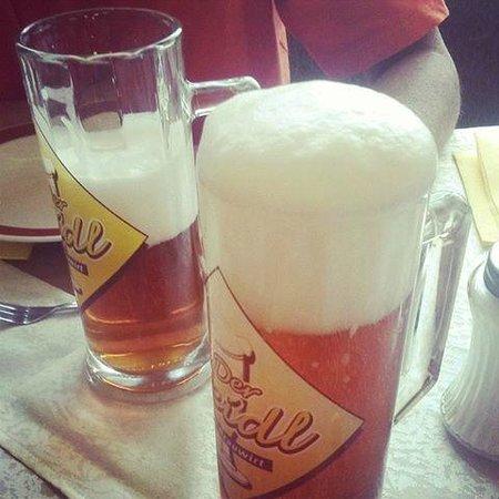 Zeutschach, Autriche : Home-brewed Seidl Beer