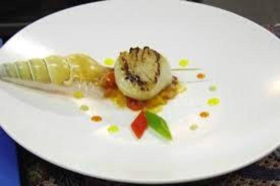 Solata Bali: atlantic scallop for my dinner