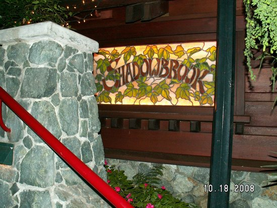 Shadowbrook: Rock Room stained glass