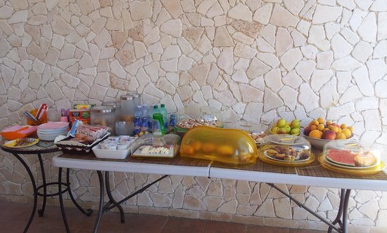 Angel Bay B&B Punta Prosciutto: la colazione