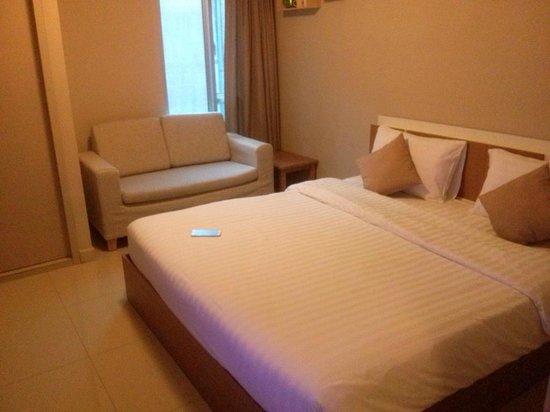 Lemontea Hotel: Our room
