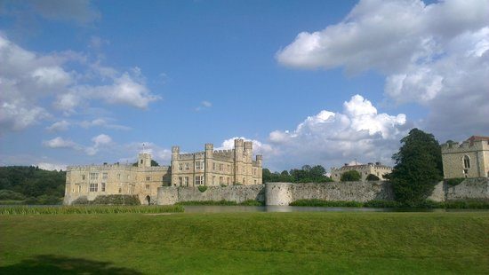 Leeds Castle: View from the land train