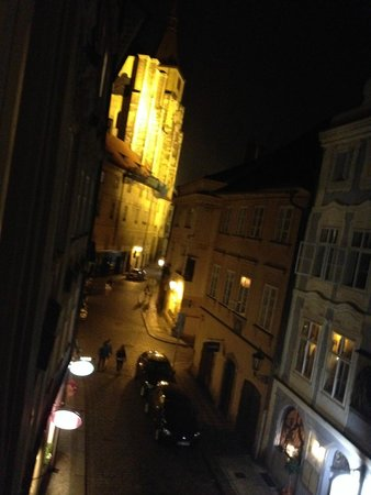 Pushkin Apartments: room view at night on the left