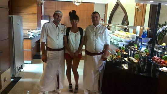 Crowne Plaza Hotel Antalya: dinning room