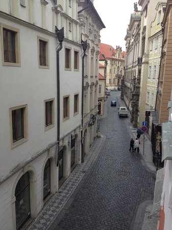 Pushkin Apartments: room view at day on the right