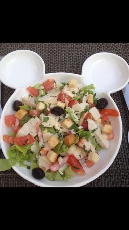 Restaurant les 3 Terrasses : Salade César enfant