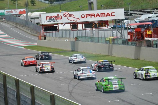 Autodromo del Mugello : Start