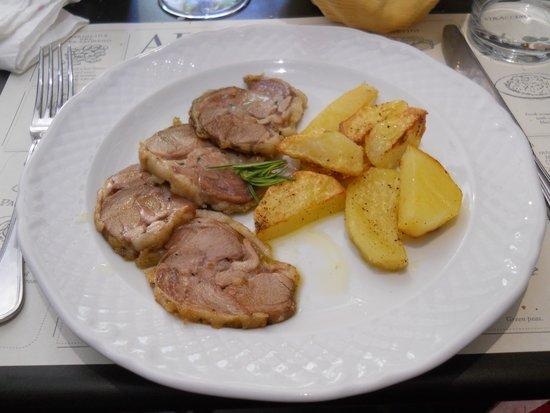 Osteria A Priori: Agnello e patate