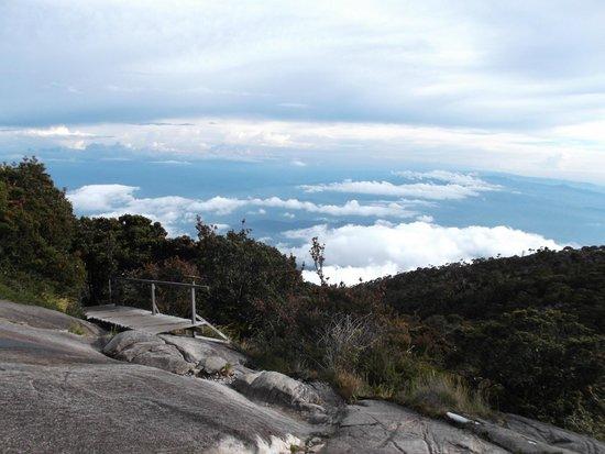 Mount Kinabalu: view from gunting lagadan hut