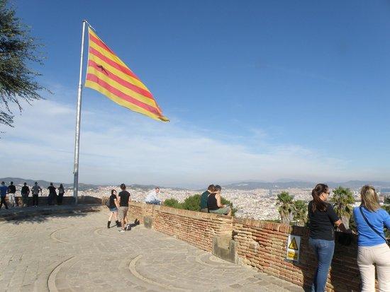 Montjuic Castle: панорама Барселоны