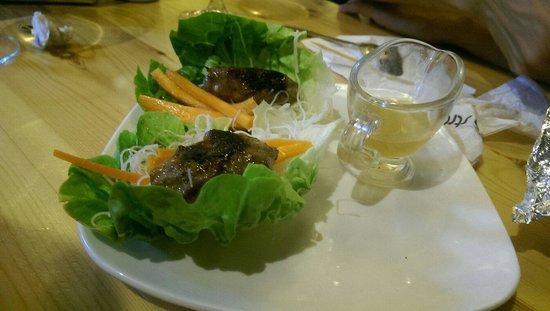 Taberna la Strazza: Albóndigas estilo oriental