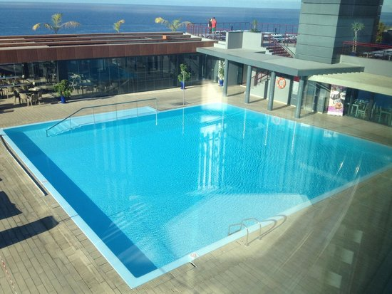 Four Views Monumental Lido: Piscina que fica no 4 piso