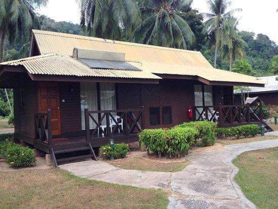 Berjaya Tioman Resort - Malaysia : View of Standard Rooms.