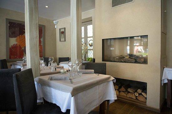 Restaurant La Lieutenance : Cheminée