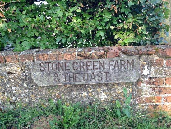 Stone Green Farm : Entrance Sign