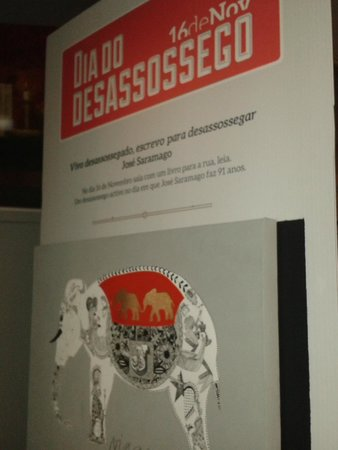 Fundacao Jose Saramago: desassossego
