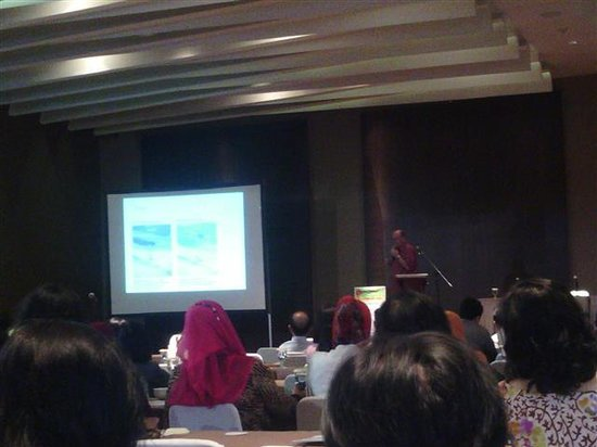 Hotel Santika Premiere Dyandra: Foreign speaker INASTH Ball room Santika premiere Dyandra Medan