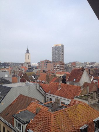 Porto Bello Bed & Breakfast: вид из окна