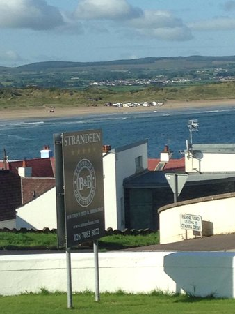Strandeen Bed and Breakfast: View from dining room
