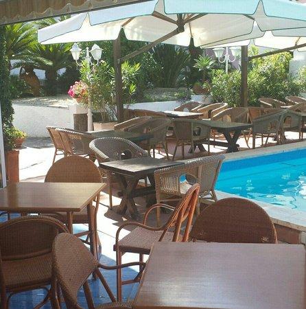 Hotel Colella Terme: Piscina e bar