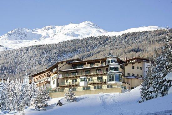 Tiroler Adler : Winteransicht