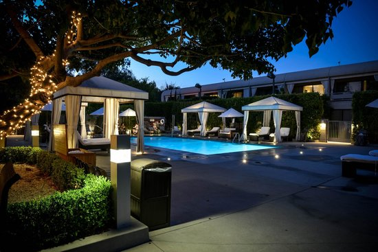 Luxe Sunset Boulevard Hotel Pool