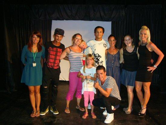 Louis Ledra Beach: The amazing entertainment team.