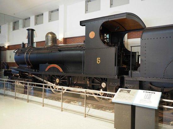 Tobu Museum: 館内展示SL