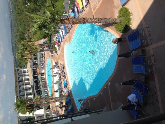 Hotel Baie des Anges : Vue sympa d un côté