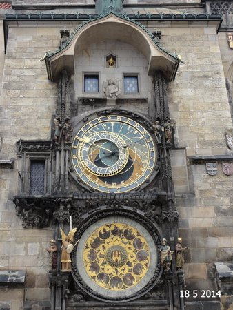 Old Town Hall and Astronomical Clock: The clock