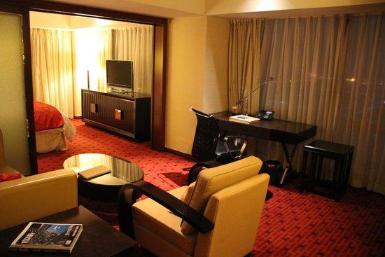 Beijing Marriott Hotel City Wall: Suite Room