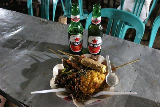 """Gili Trawangan Night Market """"The Dish"""""""
