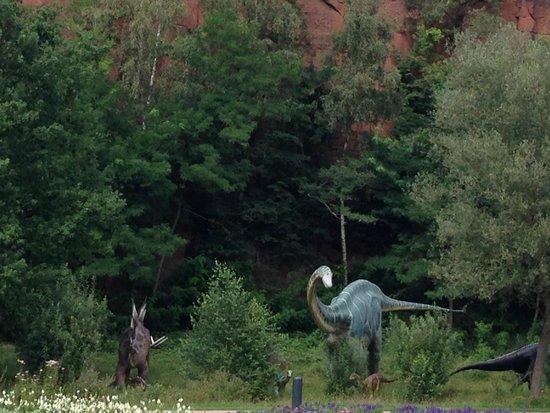 Gartenschau Kaiserslautern: dinosaurs