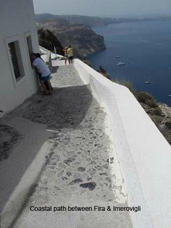 El Greco : The coastal path to Imervigli
