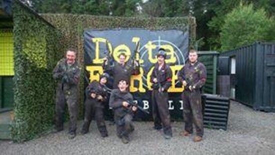 Delta Force Paintball Edinburgh: WooHoo
