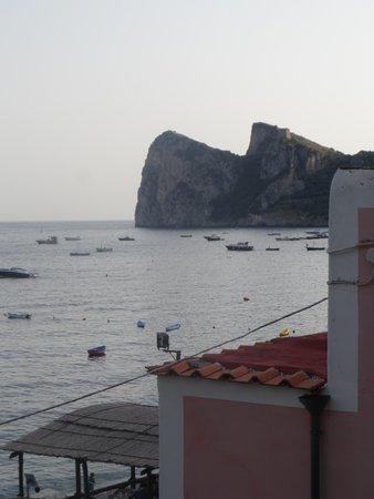 Hotel La Certosa: Vue de la chambre