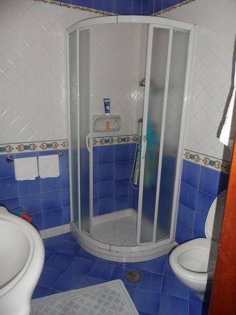 Hotel La Certosa: La salle de bains