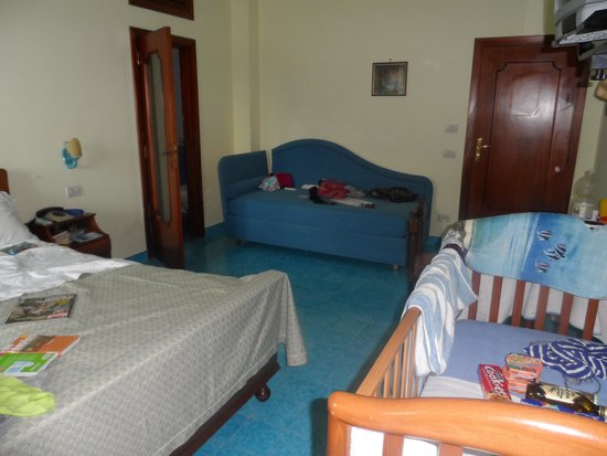 Hotel La Certosa : Vue de la Chambre
