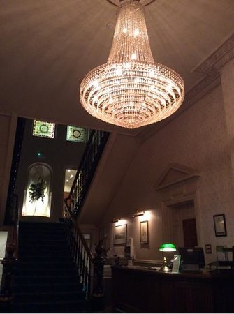 The Tower Hotel: Reception Desk at Night