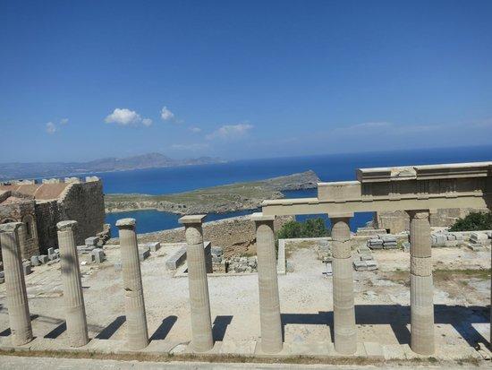 Mitsis Grand Hotel: Акрополь