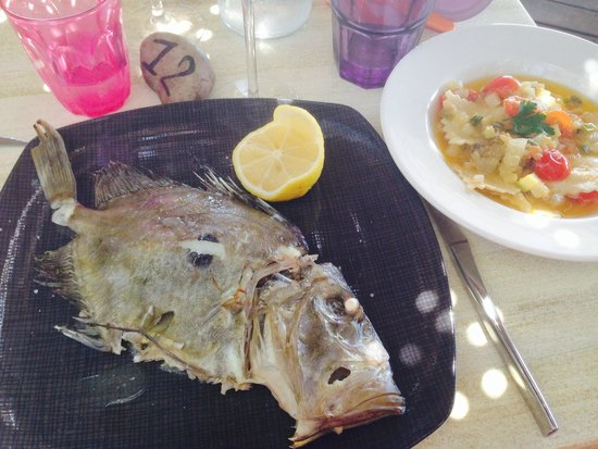 Hôtel Abbartello : La pêche du jour... Hummmm