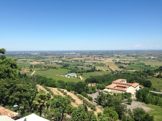Ca' de Be Osteria Enoteca: Panorama dalla terrazza