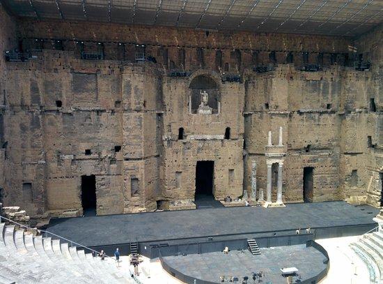 Théâtre Antique d'Orange : théâtre d'orange