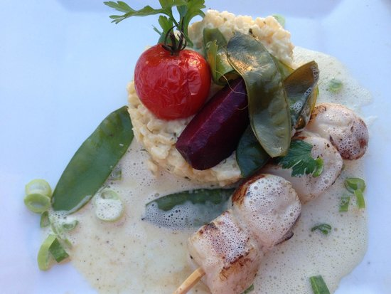 Le Yacht Club: coquille st jacques